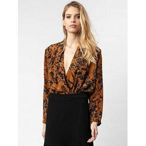 Religion Stealth Printed Bodysuit - Tan, Tan, Size 18, Women