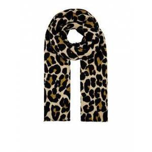 Accessorize Lucy Leopard Soft Blanket - Brown, Brown, Women