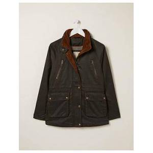 FatFace Sussex Jacket - Brown, Brown, Size 14, Women