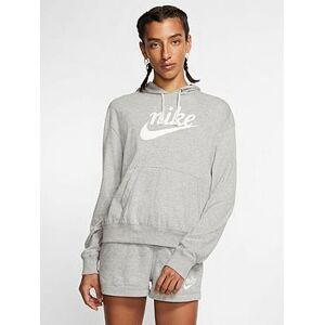 Nike NSW Gym Vintage Pullover Hoodie - Dark Grey Heather , Dark Grey Heather, Size Xs, Women