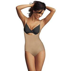 Maidenform WYOB Corset Bodybriefer, Beige, Size S (8/10), Women