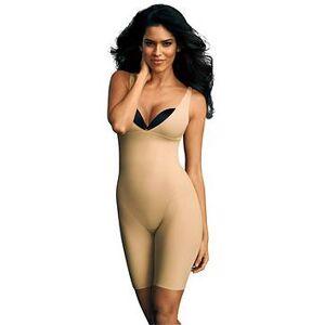 Maidenform MaidenformFirm Control Long Leg Body, Beige, Size 2Xl (16/18), Women