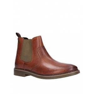 Base London Base London Piper Waxy Leather Chelsea Boot, Tan, Size 7, Men