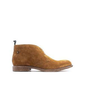 Base London Jasper Desert Boots - Brown , Brown, Size 7, Men