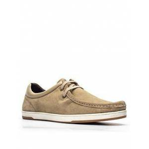Base London Dougie Lace Up Shoe - Taupe , Taupe, Size 12, Men