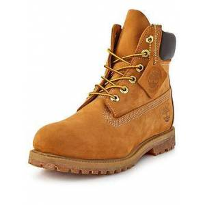 Timberland 6in Premium Ankle Boot, Wheat, Size 6, Women