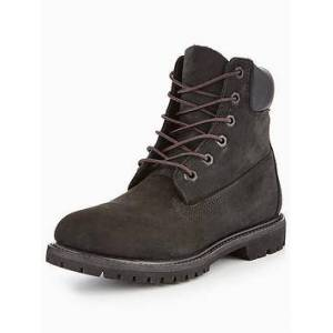 Timberland 6 Inch Premium Ankle Boot - Black, Black, Size 3, Women
