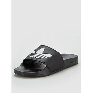 adidas Originals Adilette Lite Slides - Black , Black, Size 9, Men