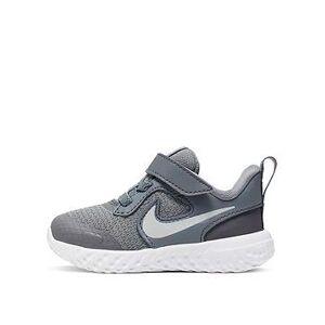 Nike Revolution 5 Infant Trainers - Grey, Grey, Size 7.5