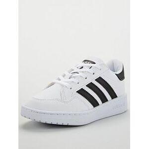 adidas Originals Novice Childrens Trainer - White, Ftwr White, Size 11