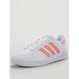 adidas Originals Novice Junior Trainer - White, Ftwr White, Size 5