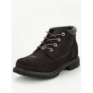 Timberland Nellie Chukka Double Ankle Boot - Black, Black, Size 4, Women