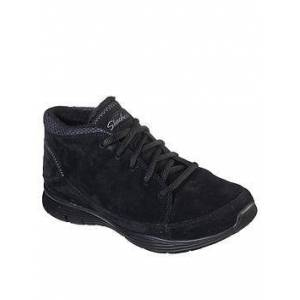 Skechers Seager Ankle Boot, Black, Size 7, Women