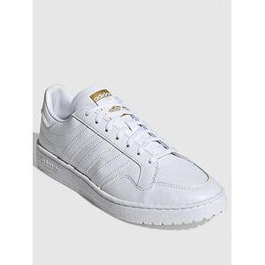 adidas Team Court - White , White/White, Size 7, Women