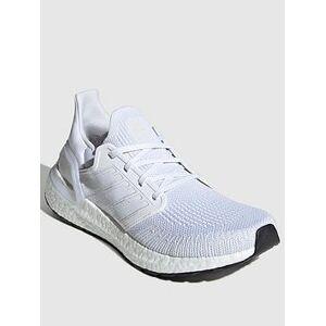 adidas Ultraboost 20 - White , White, Size 5, Women