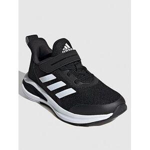 adidas Fortarun Kids Trainers - Black/White, Black/White, Size 2