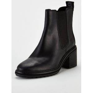 Timberland Timberland Sienna High Heeled Chelsea Ankle Boot, Black, Size 5, Women