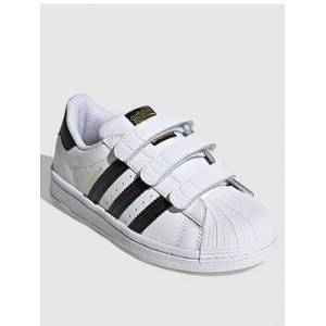 adidas Adidas Originals Superstar Cf Childrens Trainers, White/Black, Size 11