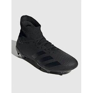 adidas Predator 20.3 Firm Ground Football Boots - Black, Black, Size 13, Men