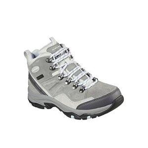 Skechers Trego Ankle Boot, Grey, Size 4, Women