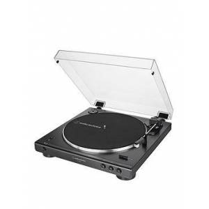 Audio-Technica At-Lp60Xbt Fully Automatic Wireless Bluetooth Belt-Drive Turntable - Black