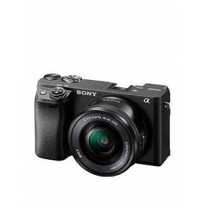 Sony Sony Α6400 E-Mount Mirrorless Camera With Aps-C Sensor And Real-Time Eye Af (With 16-50Mm Lens)