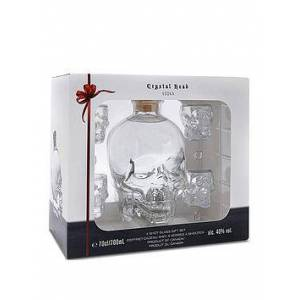 Very Crystal Head Gift Pack with 4 Shot Glasses, One Colour, Women