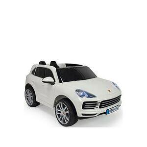 Very Plum&Reg; Injusa&Reg; Porche Cayenne S Sport 12V R/C - White