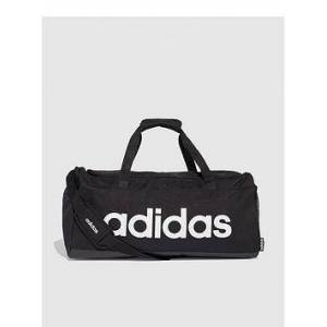 adidas Linear Duffle Bag - Black , Black, Men