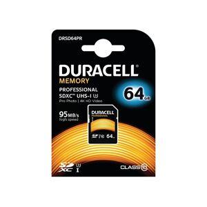 Duracell SDHC Card 64GB SDXC Class 10 UHS3 - DRSD64PR
