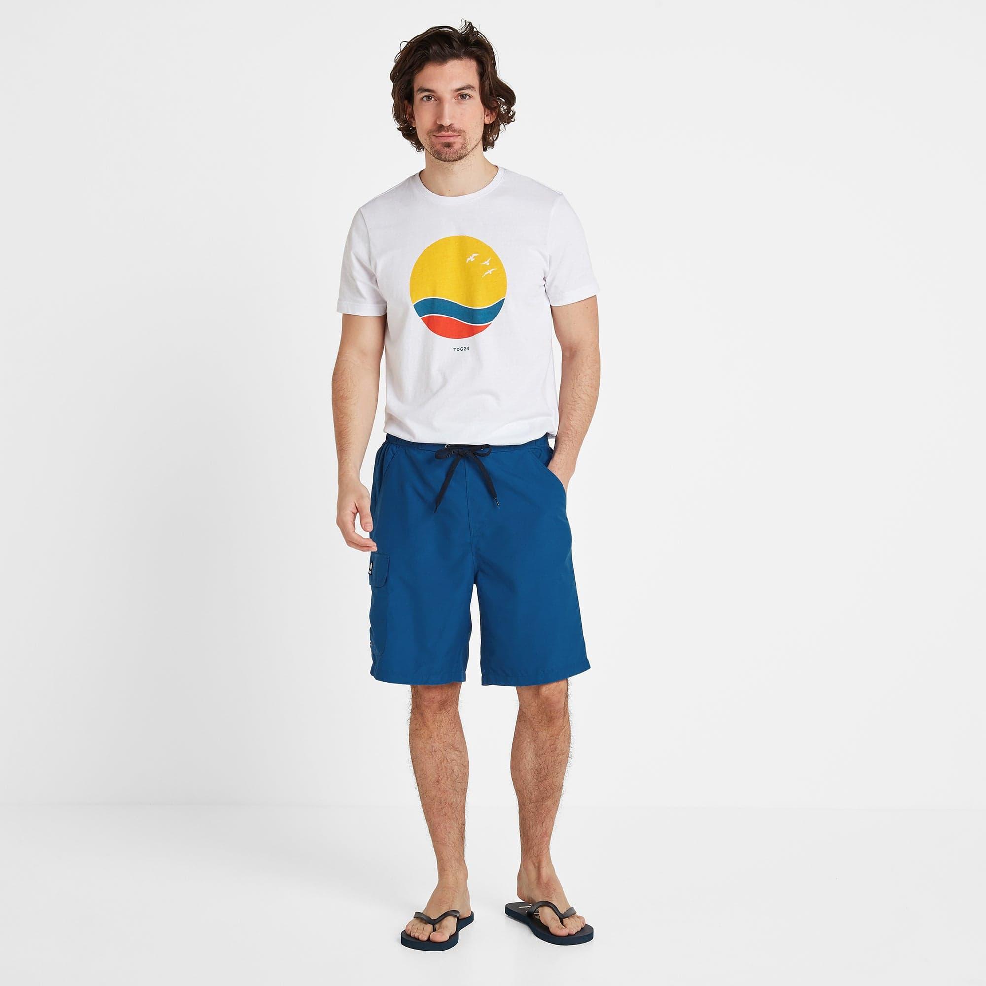 TOG24 Payne Mens Board Shorts - Classic Blue - XXL