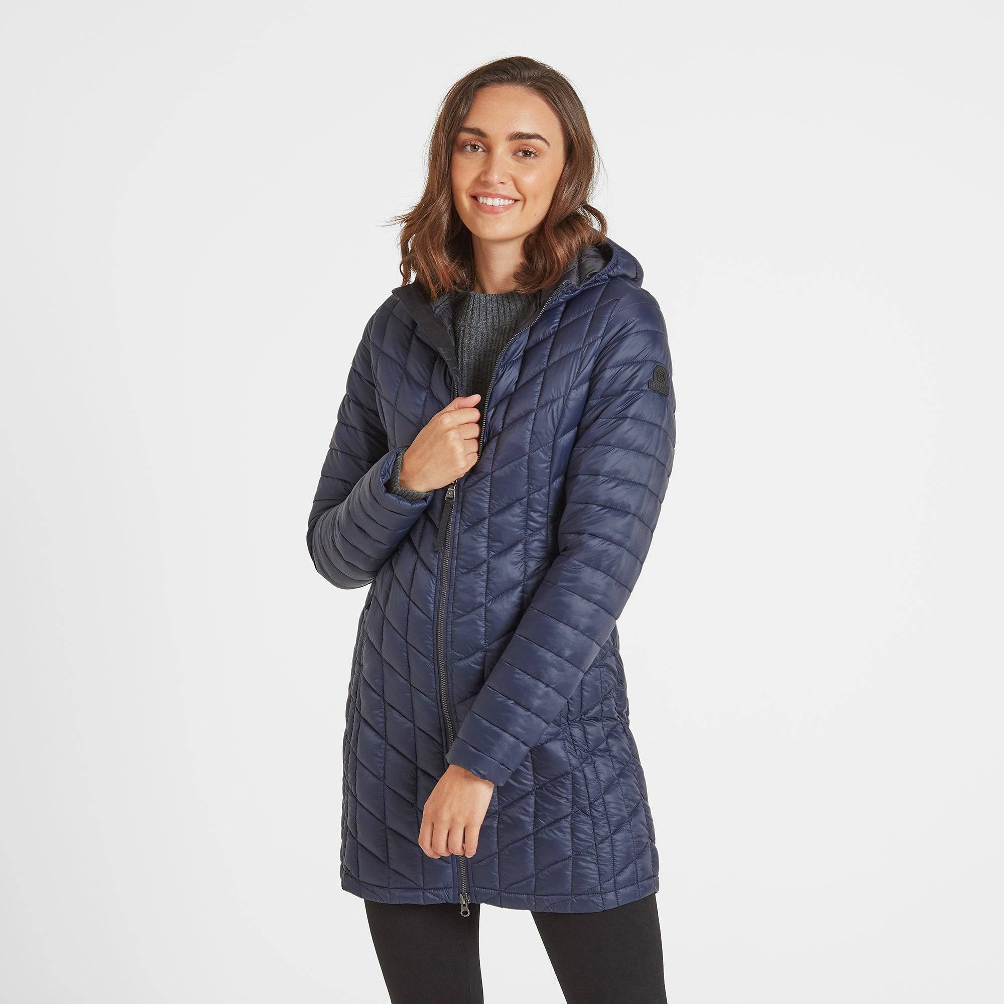 TOG24 Linton Womens Thermal Jacket - Navy - 10
