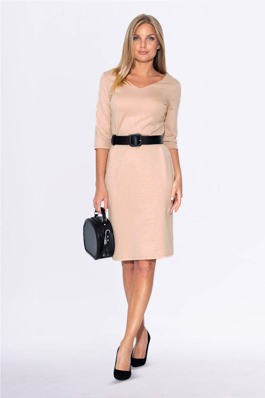 Tremees Pale Pink Bodycon Dress