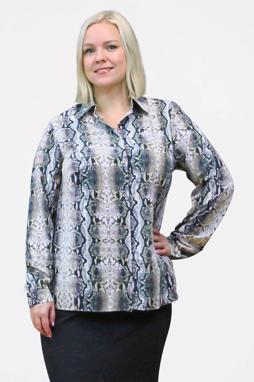 Tremees Animal print shirt