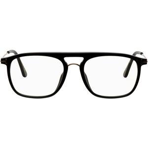 TOM FORD Black & Rose Gold Blue Block Soft Square Glasses  - 001 BLACK - Size: UNI
