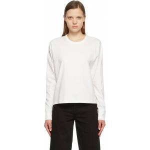 Studio Nicholson Off-White Loop Long Sleeve T-Shirt  - Off White - Size: Large
