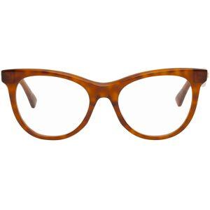 Bottega Veneta Tortoiseshell Square Glasses  - 003 Red - Size: UNI