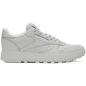 Maison Margiela Grey Reebok Edition Classic Leather Tabi Sneakers  - Gray - Size: 12.5