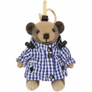 Burberry Beige Gingham Thomas Bear Keychain  - Archive bei - Size: UNI
