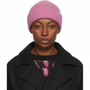 A.P.C. Pink Jude Beanie  - FAE Rose - Size: 54