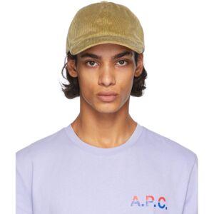 A.P.C. Beige Corduroy Charlie Hat  - BAC BEIGE F - Size: 58