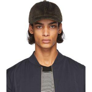 A.P.C. Khaki Corduroy Charlie Hat  - JAC KAKI MI - Size: 58
