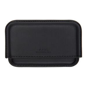 A.P.C. Black Book Card Holder  - LZZ NOIR - Size: UNI