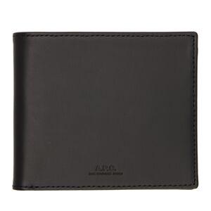 A.P.C. Black Aly Bifold Wallet  - LZZ NOIR - Size: UNI