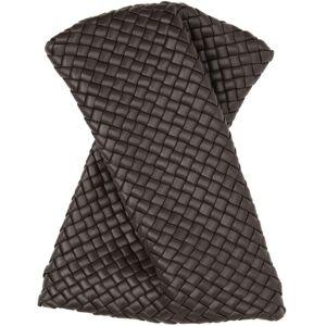 Bottega Veneta Brown Intrecciato Bow Tie Clutch  - 2132 Fonden - Size: 2X-Small