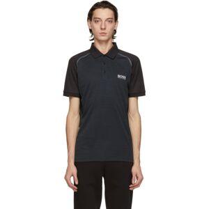 Boss Black Paule 7 Polo  - 001 BLACK - Size: Medium