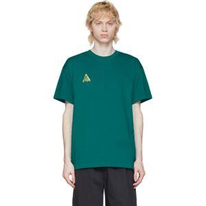 Nike Green Logo T-Shirt  - 379 BRIGHT - Size: Extra Large