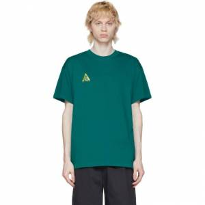 Nike Green Logo T-Shirt  - 379 BRIGHT - Size: Small