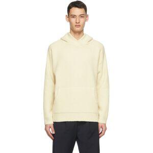 Deveaux New York Off-White Trent Hoodie  - IVORY - Size: Medium