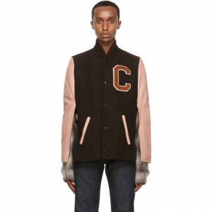 Raf Simons Brown Cape Bomber  - 00066 DRKBR - Size: Small